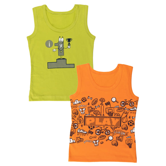 Boys play time vests