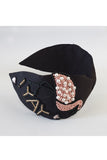 Black crepe hairband! designer Hair Accessories, designer Hair Clips, designer Hair Bands, Hair Accessories for girls