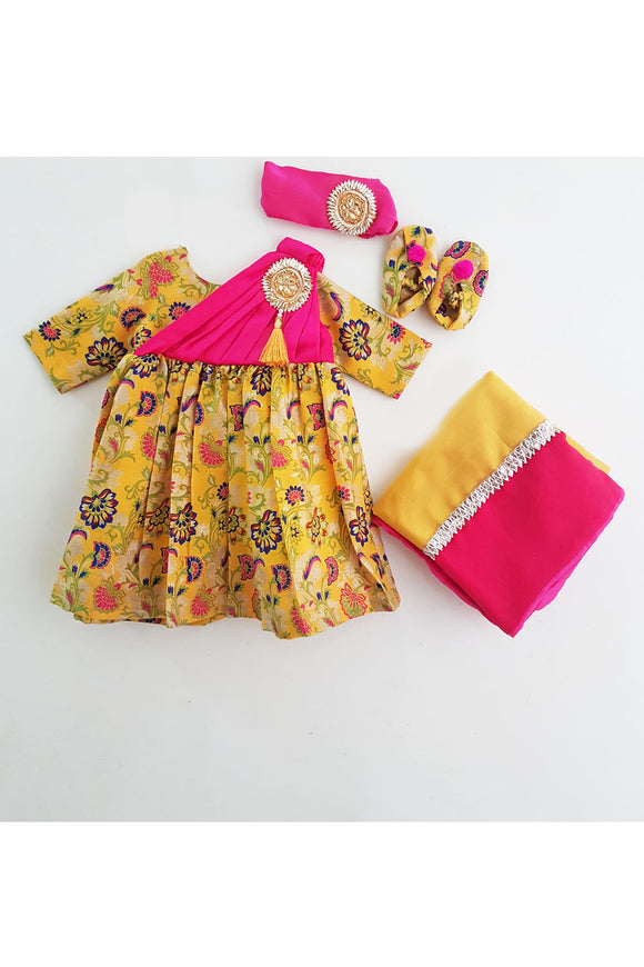 Yellow jamna set! Designer Salwar Suit Sets for Baby Girls, Designer Ethnic wear for Girls, Designer Indian wear for Girls, Designer Kurta Dhoti for Baby Girls, Designer Kurta Sharara Sets for Baby Girls, Designer Kurta Garara Sets for Baby Girls, Designer Anarkali Suits for Girls