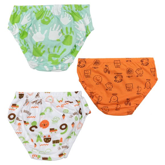 Boys little doodler underwear
