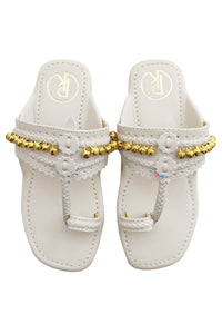 Footwear for girls, Flip flop for girls, designer sandals for girls, belly shoes for girls, designer kolhapuri flats