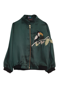 Toucan bomber jacket for winters
