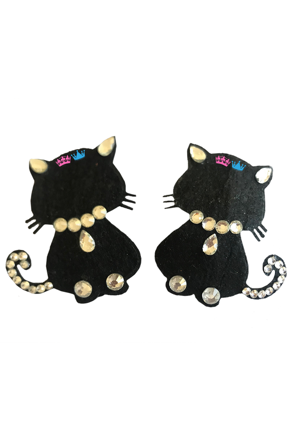 Halloween Black Cat Theme Hair Clips