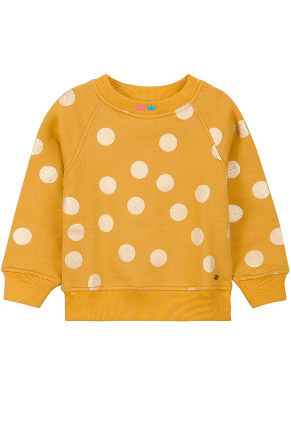 Lilli mustard yellow sweatshirt for winters