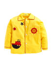 Yellow ship patch sleepwear