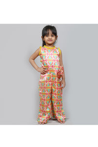 Multi color printed jumpsuit