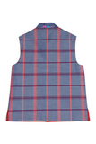 Red Double Sided Nehru Jacket