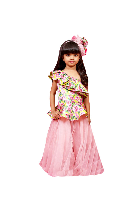 Designer partywear for girls, Partywear dresses for girls, Partywear dresses online, Jumpsuit for girls