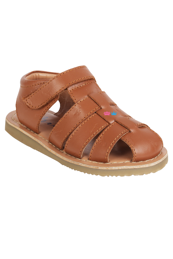 Sandy cognac sandals