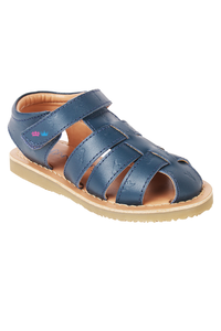 Sandy navy blue sandals