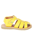 Sandy yellow sandals