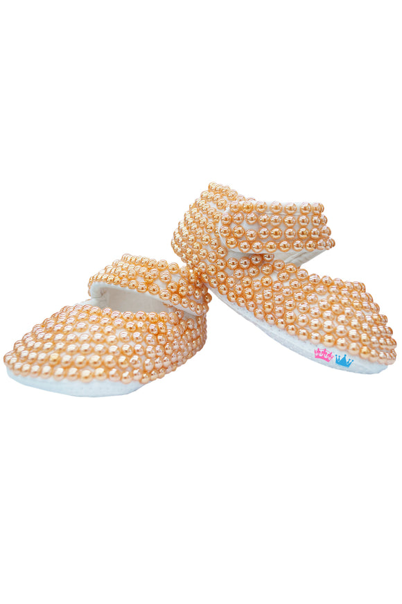 Peach Pearl Shoes