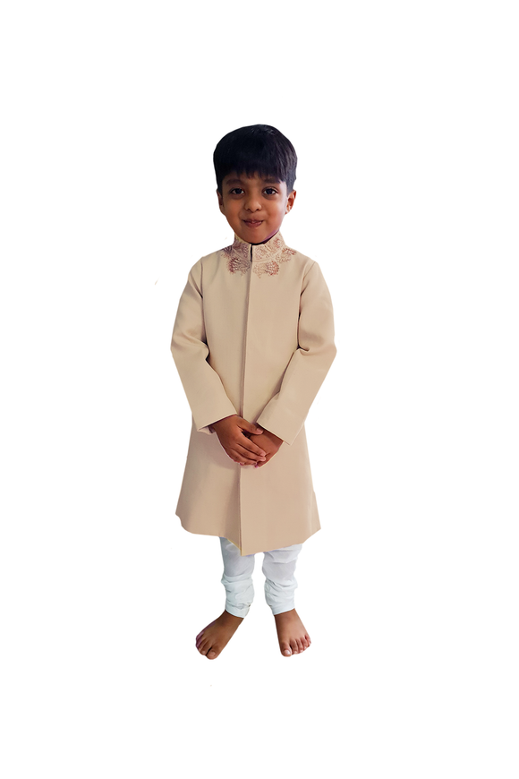 Victorian Zardozi Sherwani with Churidar
