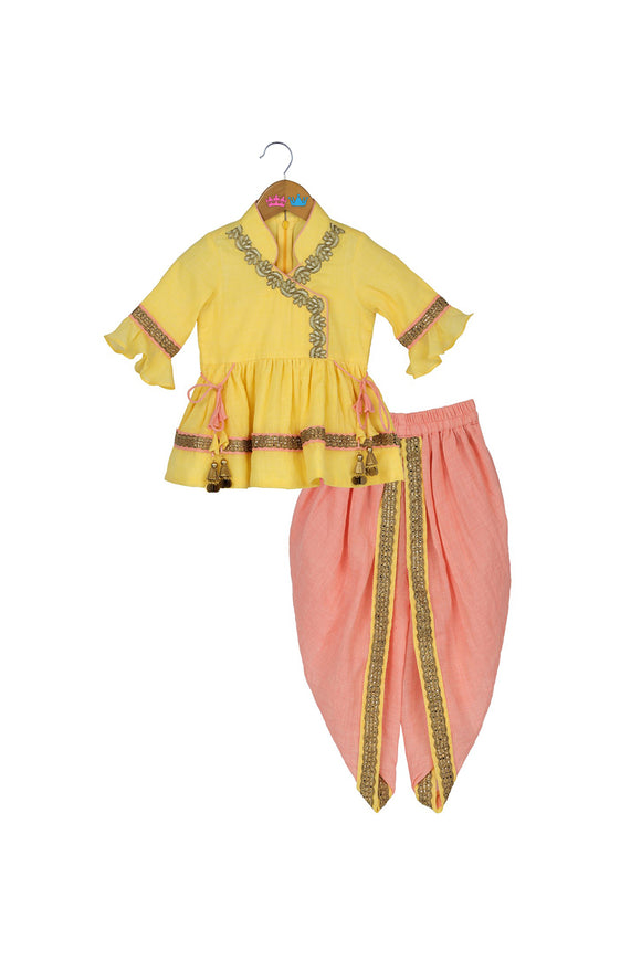 Tropical Sun Traditional Dhoti Set