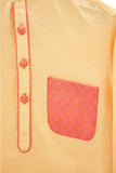 Orange Pathani Set