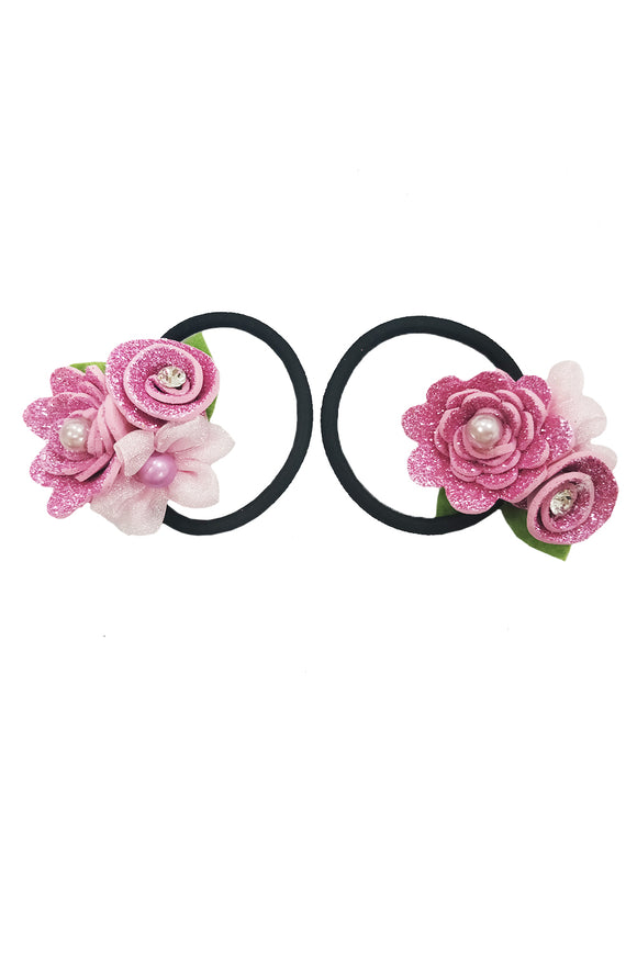 Floral Rubber Band Set