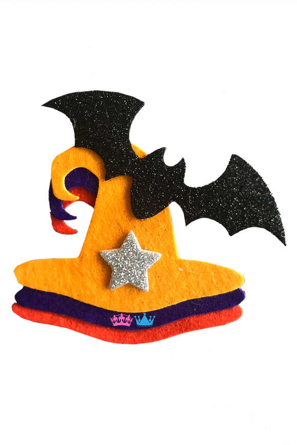 Halloween  Witch Hat Theme Badges