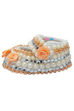 Peach Flower With 3 Different Pearl Shoes