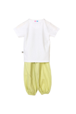Organic Green mummy's munchkin 2pc night suit