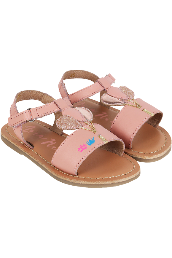 Pink Bounce Sandals