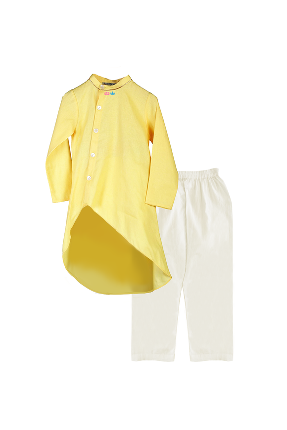 Organic Lemon Kurta with Pant