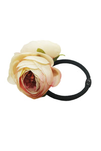 Double Rose Band- Beige Pink