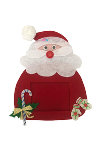 Santa theme magnetic photo frame