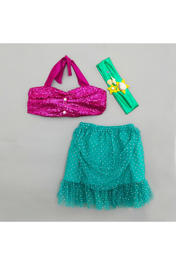 Mermaid smash cake outfit for girls
