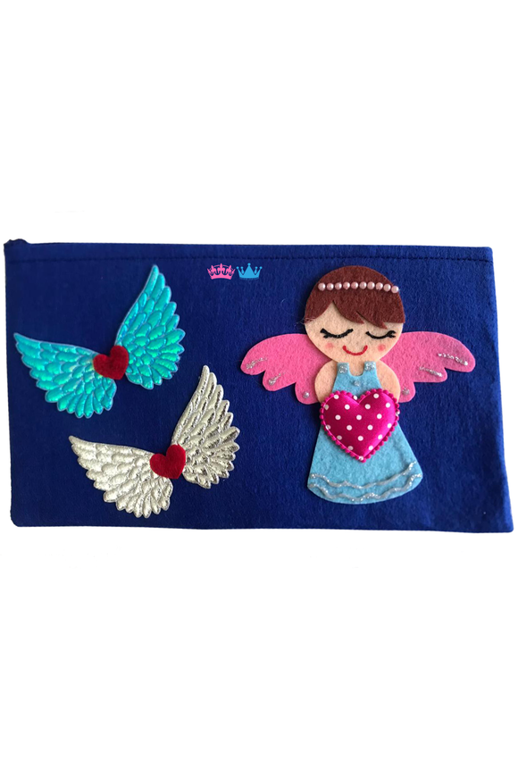 Fairy theme pencil pouch