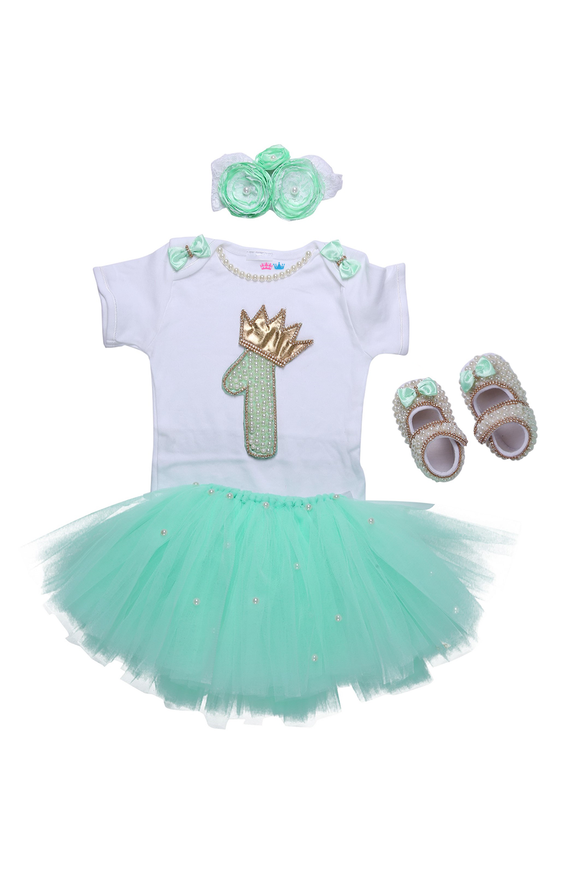 Mint Green First Birthday Tutu Outfit