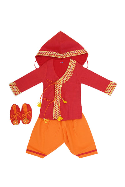 Designer ethnic wear, Ethnic wear for boys, organic jamna set for boys
