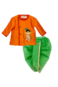 Ganesha Angrakha with Dhoti