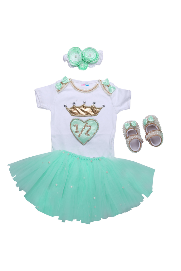 Mint Green Half Birthday Tutu Outfit