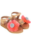 Daisy Gold Sandals