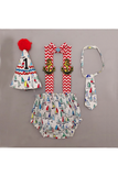 Ship print smash cake outfit for Boys