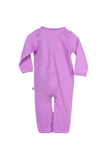 Organic Purple love sleep suit