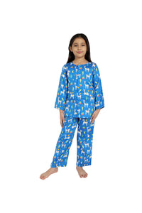 Llama print cotton nightsuit