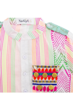 Neon multi coloured shirt