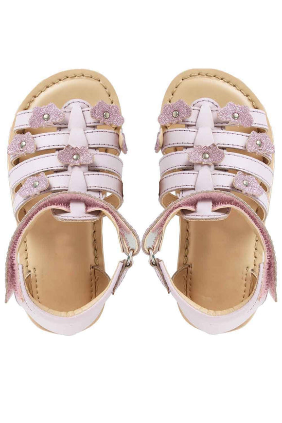 Alice lilac sandals! Footwear for girls, Flip flop for girls, designer sandals for girls, belly shoes for girls, designer kolhapuri flats