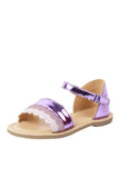 Wave purple sandals! Footwear for girls, Flip flop for girls, designer sandals for girls, belly shoes for girls, designer kolhapuri flats