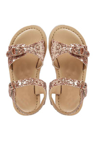 Rose gold gem sandals! Footwear for girls, Flip flop for girls, designer sandals for girls, belly shoes for girls, designer kolhapuri flats