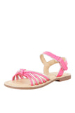 Dory pink sandals! Footwear for girls, Flip flop for girls, designer sandals for girls, belly shoes for girls, designer kolhapuri flats