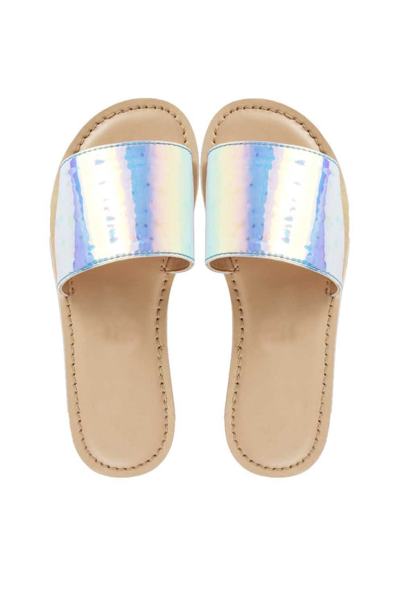 Silver milky way sandals! Footwear for girls, Flip flop for girls, designer sandals for girls, belly shoes for girls, designer kolhapuri flats