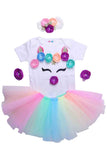 Multi Unicorn Tutu Outfit