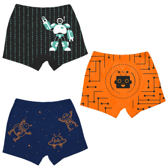 Boys robotics boxer shorts