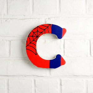 Spiderman C Letter