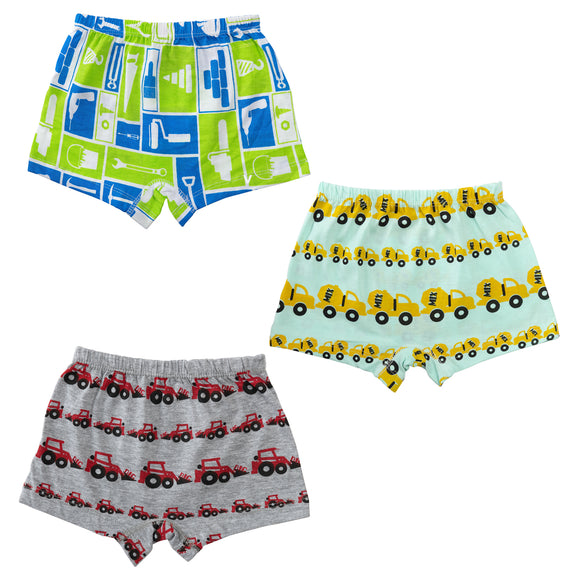 Boys under construction boxer shorts
