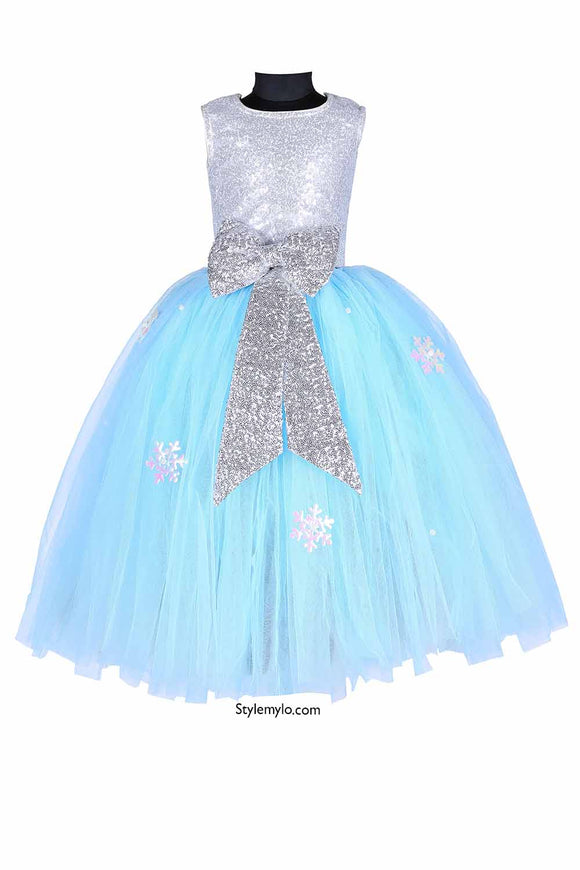 Queen Of Snowflakes Tutu Gown