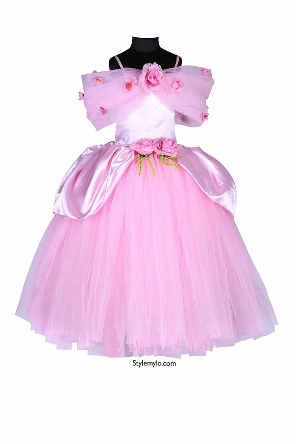 Pink Princess Tutu Gown