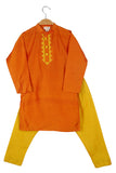 Organic Orange kurta with Pajama